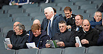 Rangers management studying the teamsheets