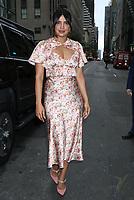 NEW YORK - NY - OCTOBER 8: Priyanka Chopra Jonas seen at NBC's Today Show in New York City on October 08, 2019. Credit: RW/MediaPunch