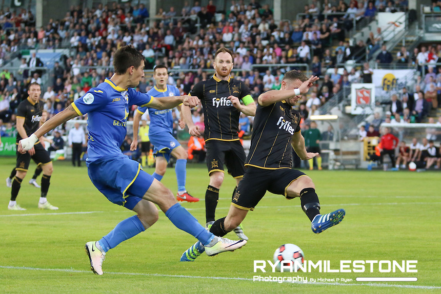 Champions League 3rd Qualifying Round 2nd Leg<br /> Dundalk FC v BATE Borisov<br /> Tallaght Stadium<br /> Tuesday August 2nd 2016<br /> Credit: Michael P Ryan