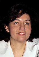 Undated file photo of Nadia Assimopoulos when she was Vice-President of the Parti Quebecois in the mid to late 80's<br /> <br /> D'origine grecque, Nadia Bredimas-Assimopoulos est trZs connue tant comme universitaire (enseignante, puis administratrice ? l'Université de Montréal) que comme femme engagée sur le plan politique et social. Détentrice d'un doctorat en sociologie de l'Université de Montréal, elle a notamment enseigné aux HEC et ? l'?cole polytechnique avant d'occuper le poste d'adjointe ? la vice-rectrice ? l'enseignement ? cette m?me université.<br /> <br /> Elle a été vice-présidente du Parti Québécois, secrétaire de la section canadienne francophone d'Amnistie Internationale, vice-présidente de l'Association canadienne des sociologues et anthropologues de langue franÕaise et membre du conseil d'administration de Radio-Québec.<br /> <br /> En 1998, madame Brédimas-Assimopoulos a été nommée Chevalier de l'Ordre des palmes académiques et, en 2004, Chevalier de l'Ordre des Arts et des Lettres. Ces deux distinctions sont accordées par le gouvernement franÕais.<br />  <br /> photo (c)  Images Distribution