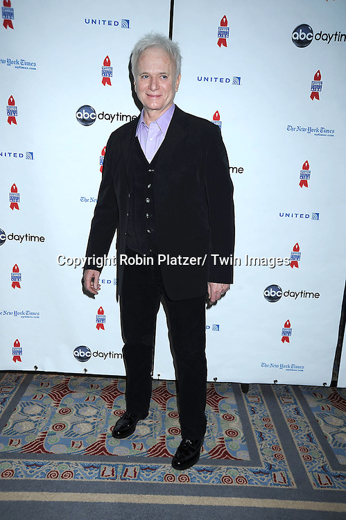 """Anthony Geary posing for photographers at The ABC Daytime Salutes Broadway Cares/ Equity Fights Aids """" An Evening of Musical Entertainment and Comedy""""  Benefit after party  on March 13, 2011 at the Marriott Marquis Hotel in New York City."""