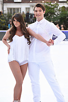 """Brooke Vincent and Matej Silecky<br /> at the """"Dancing on Ice"""" launch photocall, natural History Museum, London<br /> <br /> <br /> ©Ash Knotek  D3365  19/12/2017"""