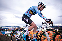 defending champion Sanne Cant (BEL)<br /> <br /> Women's Elite Race<br /> UCI 2020 Cyclocross World Championships<br /> Dübendorf / Switzerland<br /> <br /> ©kramon