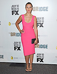 Catalina Sandino Moreno at The red carpet event for The FX Series The Bridge held at The DGA in West Hollywood, California on July 22,2021                                                                   Copyright 2013 Hollywood Press Agency