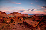 Sunset on Utah's Capitol Reef