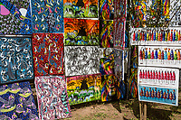 Tanzania.  Mto wa Mbu.  Local Artists Paintings for Sale.