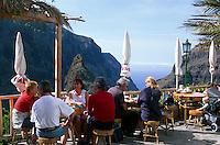 Spanien, Kanarische Inseln, Teneriffa, Restaurant in Masca