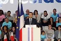 Meeting d'Emmanuel Macron au Parc Chanot à Marseille, le 1er avril 2017