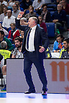 Real Madrid´s Coach Pablo Laso during the 4th match of the Turkish Airlines Euroleague at Barclaycard Center in Madrid, Spain, November 05, 2015. <br /> (ALTERPHOTOS/BorjaB.Hojas)