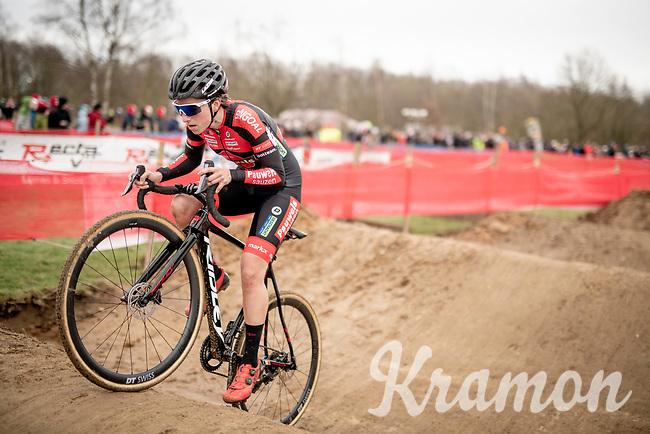 Maud Kaptheijns (NED/Pauwels Sauzen - Bingoal)<br /> <br /> Women's Race<br /> CX GP Leuven (BEL) 2020<br />  <br /> ©kramon
