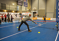 December 20, 2014, Rotterdam, Topsport Centrum, Lotto NK Tennis, minitennis<br /> Photo: Tennisimages/Henk Koster