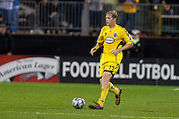 26 SEPTEMBAR 2009:  #15 Kevin Burns of the Columbus Crew   during the Los Angeles Galaxy at Columbus Crew MLS game in Columbus, Ohio on May 27, 2009. during the Los Angeles Galaxy at Columbus Crew MLS game in Columbus, Ohio on May 27, 2009.