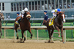Shackleford ridden by Jesus Castanon, trained by Dale Romans win the G2 Churchill Downs Stakes at Churchill Downs in Louisville, Kentucky Saturday, May 5, 2012