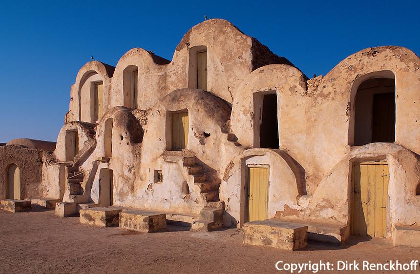 Tunesien, Metameur, Ghorfa (alter Speicher)