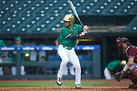 Cole Daily (6) of the Notre Dame Fighting Irish at bat against the Florida State Seminoles in Game Four of the 2017 ACC Baseball Championship at Louisville Slugger Field on May 24, 2017 in Louisville, Kentucky. The Seminoles walked-off the Fighting Irish 5-3 in 12 innings. (Brian Westerholt/Four Seam Images)