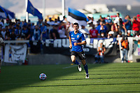 SAN JOSE, CA - AUGUST 8: Nathan #13 during a game between Los Angeles FC and San Jose Earthquakes at PayPal Stadium on August 8, 2021 in San Jose, California.
