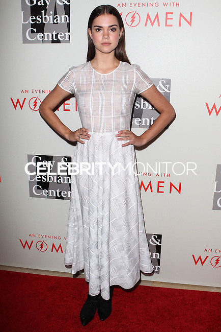 """BEVERLY HILLS, CA, USA - MAY 10: Maia Mitchell at the """"An Evening With Women"""" 2014 Benefiting L.A. Gay & Lesbian Center held at the Beverly Hilton Hotel on May 10, 2014 in Beverly Hills, California, United States. (Photo by Celebrity Monitor)"""