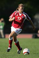 MAR 11, 2006: Quarteira, Portugal:  USWNT midfielder Marie Herping