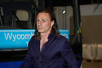 Wycombe Wanderers Manager Gareth Ainsworth arrives for the Carabao Cup match between Manchester City and Wycombe Wanderers at the Etihad Stadium, Manchester, England on 21 September 2021. Photo by David Horn.