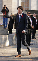 Newly elected Canadian Prime Minister Justin Trudeau introduce his Liberal cabinet on<br />  Rideau Hall in Ottawa, Ontario, on Wednesday, November 4, 2015.<br /> <br /> PHOTO : Raffi Kirdi<br /> - Agence Quebec Presse
