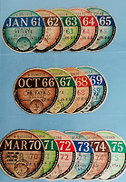 One man's collection of over 5,000 tax discs are tipped to sell for £10,000 at auction.