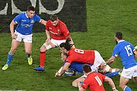 Sergio Parisse Italy, Josh Navidi Wales <br /> Roma 9-02-2019 Stadio Olimpico<br /> Rugby Six Nations tournament 2019  <br /> Italy - Wales <br /> Foto Andrea Staccioli / Resini / Insidefoto