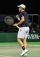 Rotterdam, Netherlands, 9 februari, 2019, Ahoy, Tennis, ABNAMROWTT, THOMAS FABBIANO (ITA) Photo: Henk Koster/tennisimages.com