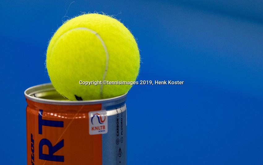 Amstelveen, Netherlands, 8  December, 2020, National Tennis Center, NTC, NKR, National  Indoor Wheelchair Tennis Championships, Tennisbal<br /> Photo: Henk Koster/tennisimages.com
