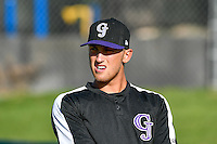 Grand Junction Rockies starting pitcher Mike Nikorak (14) before the game against the Ogden Raptors in Pioneer League action at Lindquist Field on June 20, 2016 in Ogden, Utah. The Rockies defeated the Raptors 5-2. (Stephen Smith/Four Seam Images)