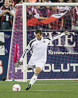 Houston Dynamo goalkeeper Tally Hall (1)  The New England Revolution played to a 1-1 draw against the Houston Dynamo during a Major League Soccer (MLS) match at Gillette Stadium in Foxborough, MA on September 28, 2013.
