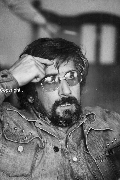 1972 FILE PHOTO - ARCHIVES -<br /> <br /> Quebec filmmaker Gilles carle<br /> <br /> PHOTO : Reg INNELL - Toronto Star Archives - AQP