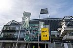 19.09.2020, wohninvest Weserstadion, Bremen, GER,  SV Werder Bremen vs Hertha BSC Berlin, <br /> <br /> <br />  im Bild<br /> <br /> Einlass Tor 4<br /> <br /> Foto © nordphoto / Kokenge<br /> <br /> DFL regulations prohibit any use of photographs as image sequences and/or quasi-video.