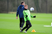 Jay Fulton of Swansea City during the Swansea City Training at The Fairwood Training Ground in Swansea, Wales, UK.  Wednesday 08 January 2020