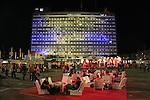 Israel, Tel Aviv-Yafo, the Book fair at Rabin square
