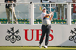 Marcus Fraser of Australia tees off the first hole during the 58th UBS Hong Kong Open as part of the European Tour on 08 December 2016, at the Hong Kong Golf Club, Fanling, Hong Kong, China. Photo by Marcio Rodrigo Machado / Power Sport Images