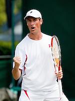 25-6-09, England, London, Wimbledon, Rgier Wassen