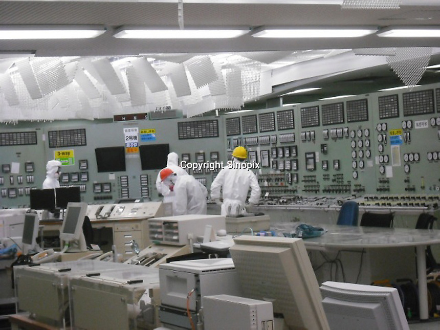 The stricken Fukushima Daiichi Nuclear Power Plant in Fukushima Prefecture, Japan. The plant was severely damaged after the March 11th earthquake and tsunami and continues to leak radiation.  .09 May 2011....
