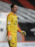Bournemouth's Asmir Begovic<br /> <br /> Photographer David Horton/CameraSport<br /> <br /> The EFL Sky Bet Championship - Bournemouth v Queens Park Rangers - Saturday 17th October 2020 - Vitality Stadium - Bournemouth<br /> <br /> World Copyright © 2020 CameraSport. All rights reserved. 43 Linden Ave. Countesthorpe. Leicester. England. LE8 5PG - Tel: +44 (0) 116 277 4147 - admin@camerasport.com - www.camerasport.com