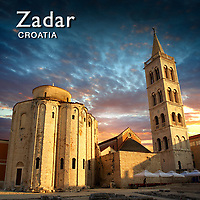 Zadar Churches Pictures, Photos, Images & Fotos