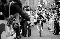 Ronde van Vlaanderen 2013..Jürgen Roelandts (BEL) supported to the start