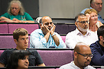 © Joel Goodman - 07973 332324 . 21/07/2016 . Manchester , UK . The audience at a hustings for the Mayoralty of Greater Manchester , at the Renold Building of the University of Manchester . Labour candidates Andy Burnham ( MP for Leigh ) , Tony Lloyd ( current interim Mayor ) and  Ivan Lewis ( MP for Bury South ) debate their relative candidacies . Photo credit : Joel Goodman