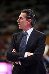 League ACB-Endesa 2013/2014 - Game: 10.<br /> FIATC Joventut vs Laboral Kutxa: 83-74.<br /> Sergio Scariolo.