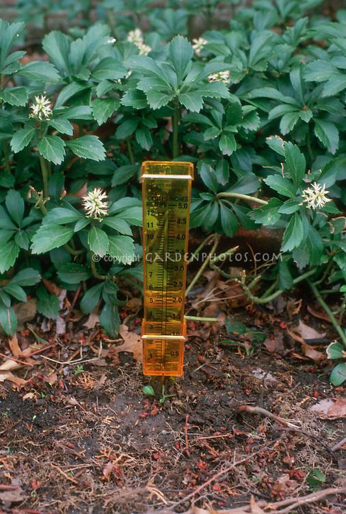 Raingauge to measure rain