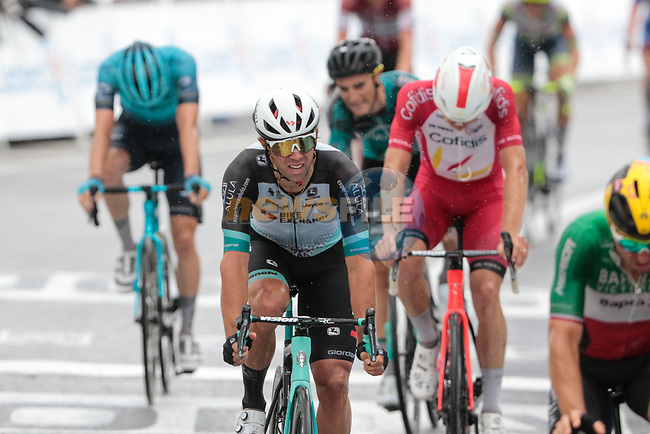 Michael Matthews (AUS) Team BikeExchange finishes 3rd and collects more points in the Green Jersey competition at the end of Stage 16 of the 2021 Tour de France, running 169km from Pas de la Case to Saint-Gaudens, Andorra. 13th July 2021.  <br /> Picture: Colin Flockton | Cyclefile<br /> <br /> All photos usage must carry mandatory copyright credit (© Cyclefile | Colin Flockton)