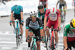 Michael Matthews (AUS) Team BikeExchange finishes 3rd and collects more points in the Green Jersey competition at the end of Stage 16 of the 2021 Tour de France, running 169km from Pas de la Case to Saint-Gaudens, Andorra. 13th July 2021.  <br /> Picture: Colin Flockton   Cyclefile<br /> <br /> All photos usage must carry mandatory copyright credit (© Cyclefile   Colin Flockton)