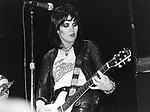 Joan Jett 1980 The Blackhearts<br />© Chris Walter