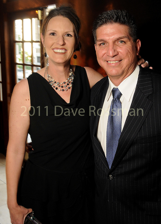 Cassie and Tom Munoz at the 2013 Angel Awards at the Crystal Ballroom at the Rice Hotel Friday April 12, 2013.(Dave Rossman photo)