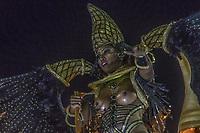 Rio de Janeiro (RJ), 21/02/2020 CARNAVAL - RJ - DESFILE - Desfile das escolas de samba  Academicos do Cubango, da Serie A, nesta sexta-feira (21), no sambodromo, no centro do Rio de Janeiro (RJ). (Foto: Ellan Lustosa/Codigo 19/Codigo 19)