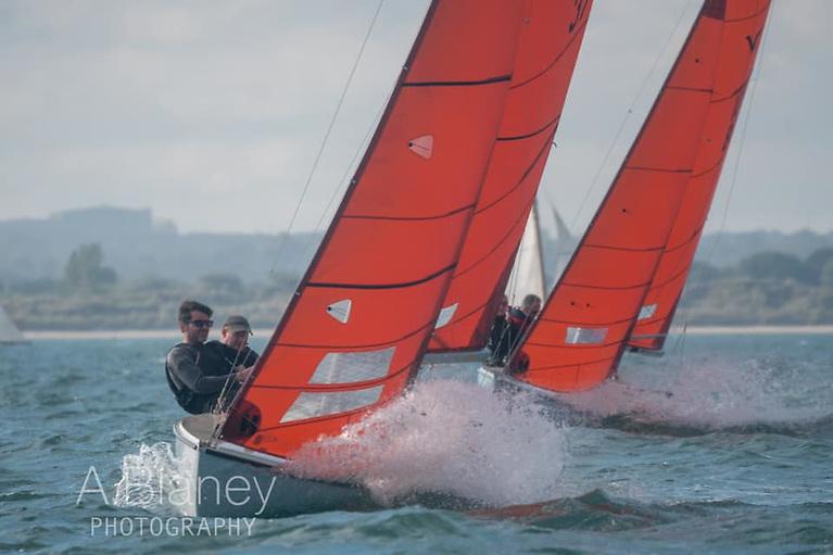 Emmet Dalton's Kerfuffle continues to lead the reviving Squib class. Photo: Annraoi Blaney