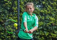 Hilversum, Netherlands, August 9, 2017, National Junior Championships, NJK, Jade Kluijtmans<br /> Photo: Tennisimages/Henk Koster